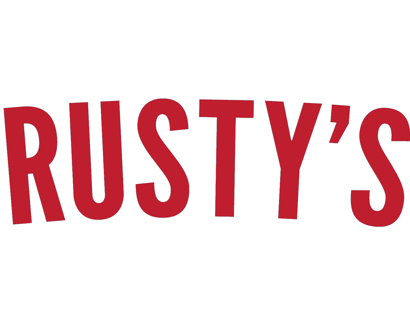 Rusty's Bar-B-Q Logo